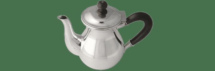 Kaffekande sølv m. træhåndtag Kay Bojesen